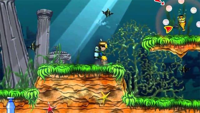تحميل و تنزيل لعبة الخفيفة جدا لعبة المغامرات الرائعة Shark Attack للكمبيوتر