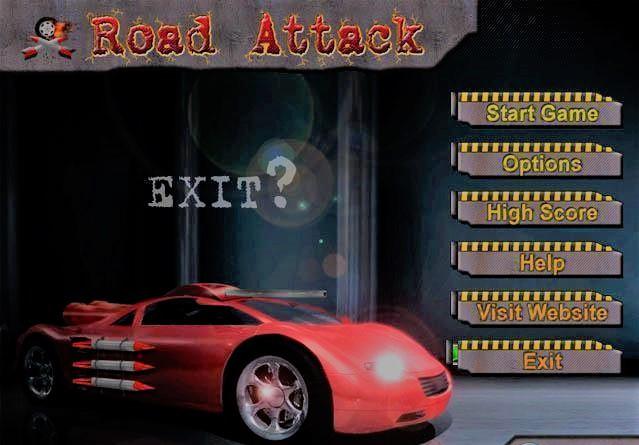 تحميل لعبة سباق السيارات Road Attack للكمبيوتر