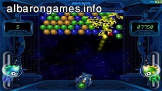 تحميل لعبة الفقاعات الفضائية Space Bubbles للكمبيوتر