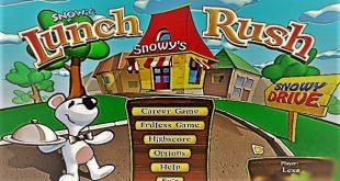 تحميل لعبة المطعم والزبائن Snowy Lunch Rush للكمبيوتر