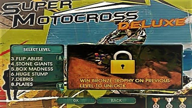 تحميل لعبة الدراجات النارية Super Motocross Deluxe للكمبيوتر