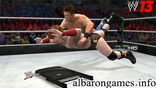 تحميل لعبة WWE 2013 من ميديا فاير
