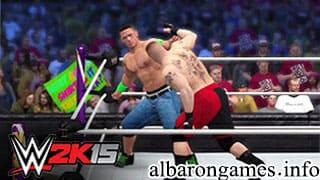 تحميل لعبة WWE 2015 على الكمبيوتر