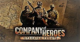 تحميل لعبة Company of Heroes: Opposing Fronts للكمبيوتر مجاناً