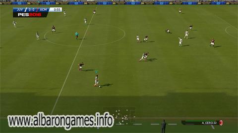 تحميل لعبة كرة القدم بيس 2016 الإصدار الكامل مجاناً برابط مباشر او تورينت
